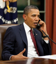 13546_obamaphone Obama Promises No Recess Appointments During Senate Easter Break
